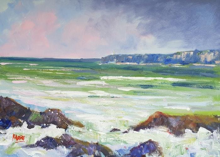 azul verde olas del mar rocas dibujos bonitos para dibujar ideas de pinturas bonitas con pinturas colores