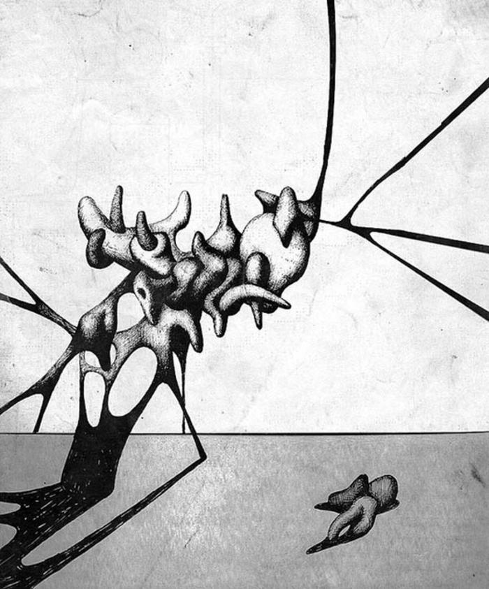 las mejores muestras de arte abstracto, dibujos en blanco y negro inspiradores, ideas de dibujos originales en fotos