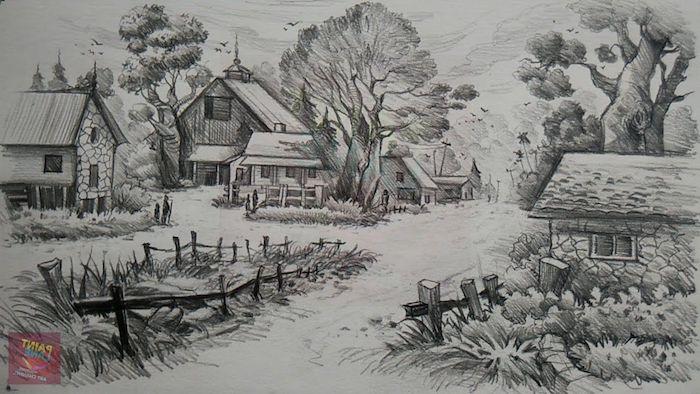 bonitas ideas de fotos de dibujos en blanco y negro originales ideas para dibujar paisahes