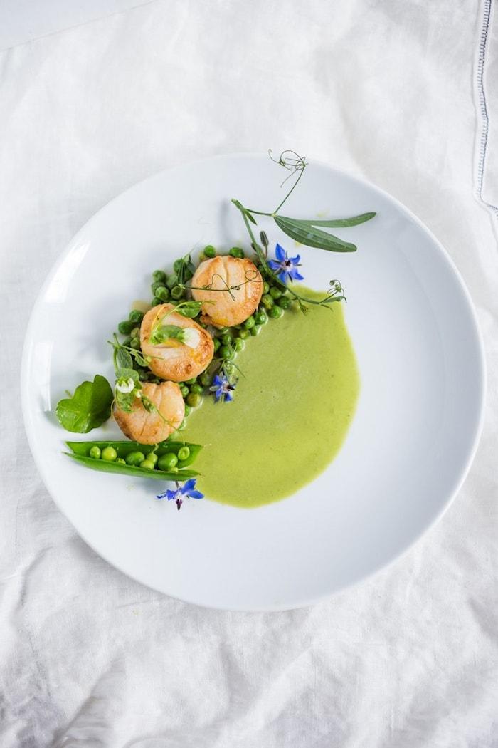 bonitas ideas de platos con mariscos recetas de aperitivos y entrantes fotos de entrantes faciles y rapidos con guisantes