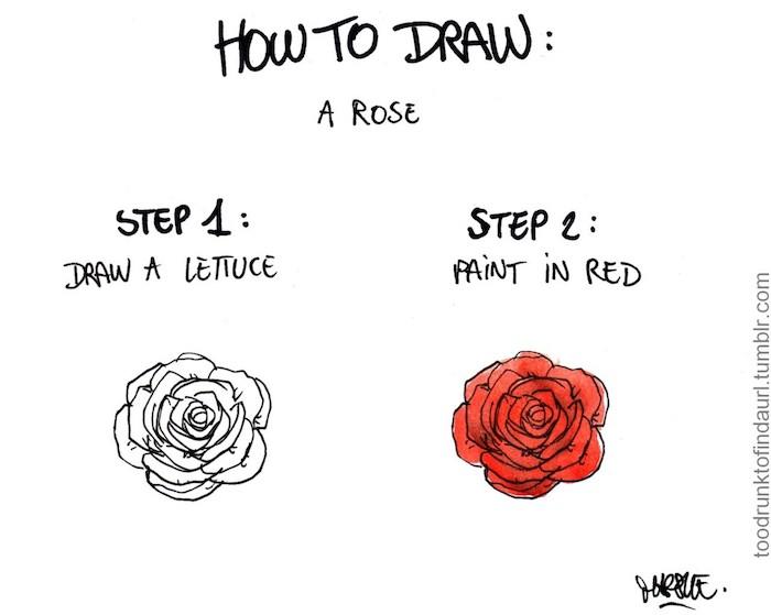 como dibujar una rosa paso a paso dibujos de rosas a lapiz fotos de dibujos faciles de hacer
