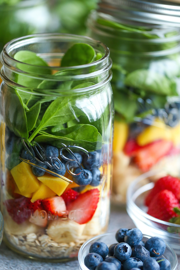batidos de frutas con espinacas, como hacer un desayuno saludables y nutritivo para empezar el dia, batidos de frutas con leche