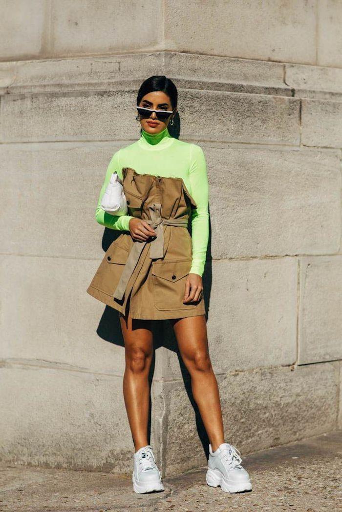 conjuntos tumblr los mejores ejemplos de ropa en este estilo zapatillas blusa en color verde neon ropa tumblr chicas