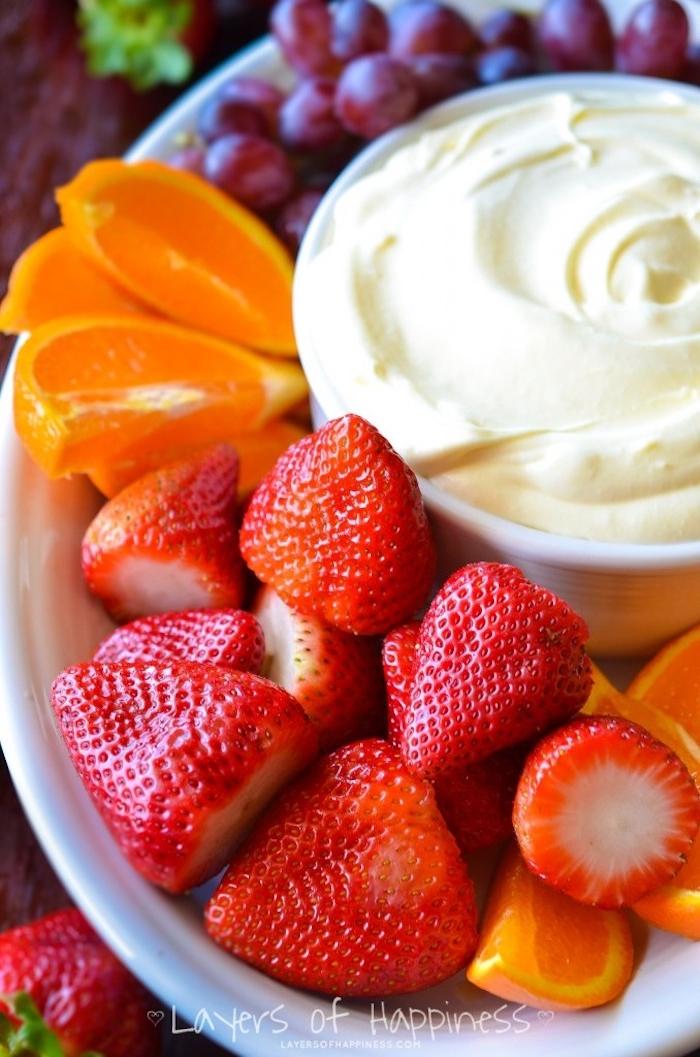 frutas con mascarpone, postres faciles para impresionar, las mejores ideas de frutas frescas con mascarpone