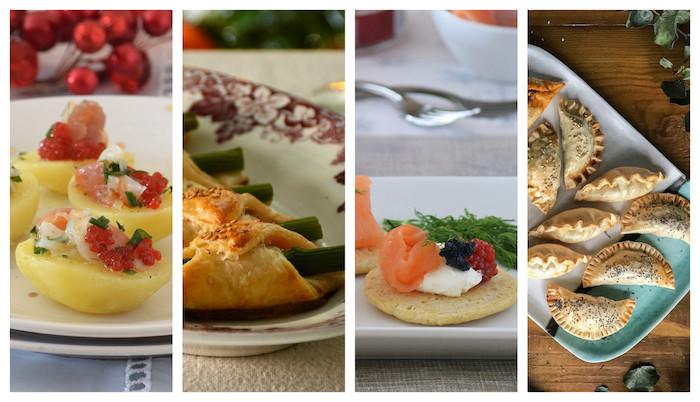 cuatro fantasticas ideas de recetas de entrantes y aperitivos fotos de entrantes y comidas faciles