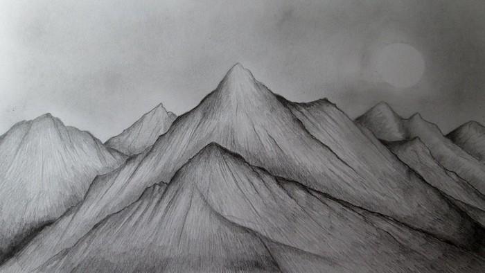 cumbres montañosos ideas de dibujos a lapiz blanco y negro fotos de dibujos a lapiz dibujos a lapiz