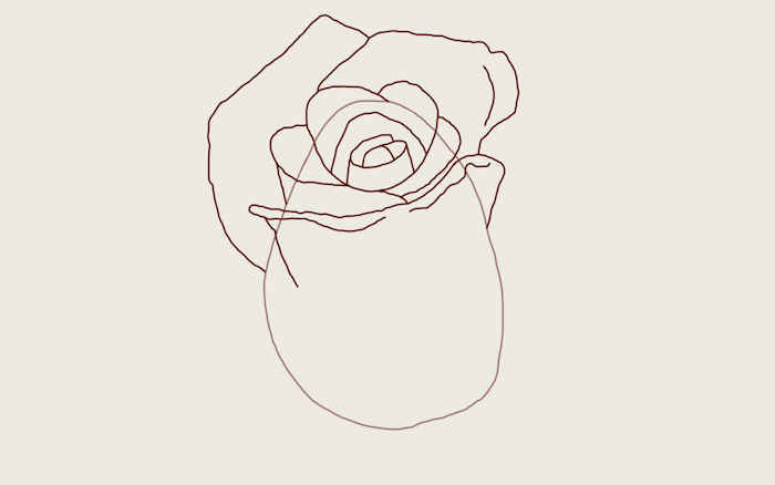 detalle bonito dibujo rosa cosas para redibujar simbolicas ideas de dibujos de flores