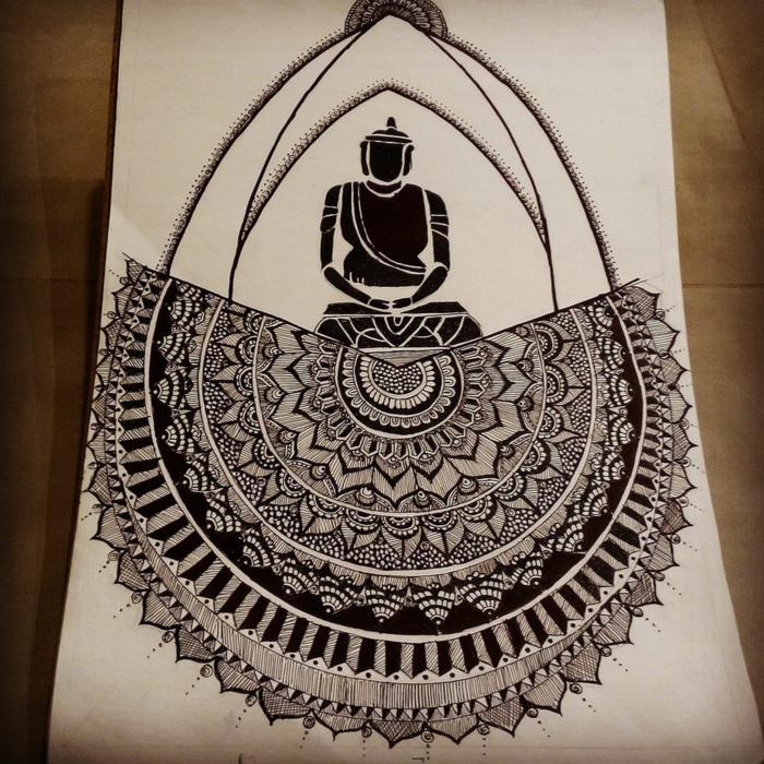 fenomenales ideas de dibujos en blanco y negro chulos, ideas de dibujos en blanco y negro originales, dibujar para avanzados