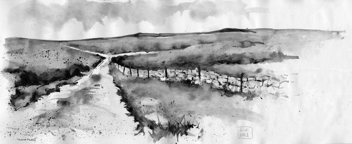 dibujo inspirado en toscana italia paisajes en blanco y negro que enamoran paisajes para dibujar