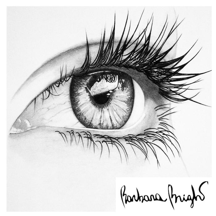 fenomenales ideas sobre como dibujar un ojo, pasos para hacer dibujos realistas y faciles de hacer en casa