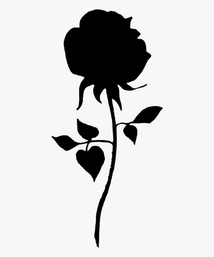 dibujo rosa negra dibujos faciles y bonitos ideas de dibujos en estilo realista fotos de dibujos chulos