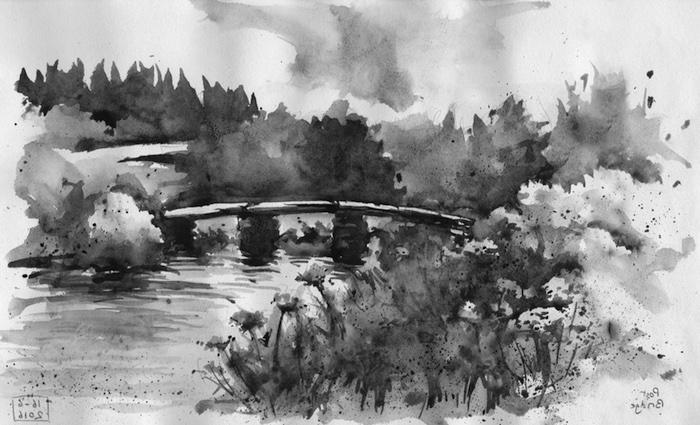 dibujos chulos enblanco y negro ideas de dibujos paisajes personas dibujos de paisajes a lapiz fotos de dibujos originales de paisajes