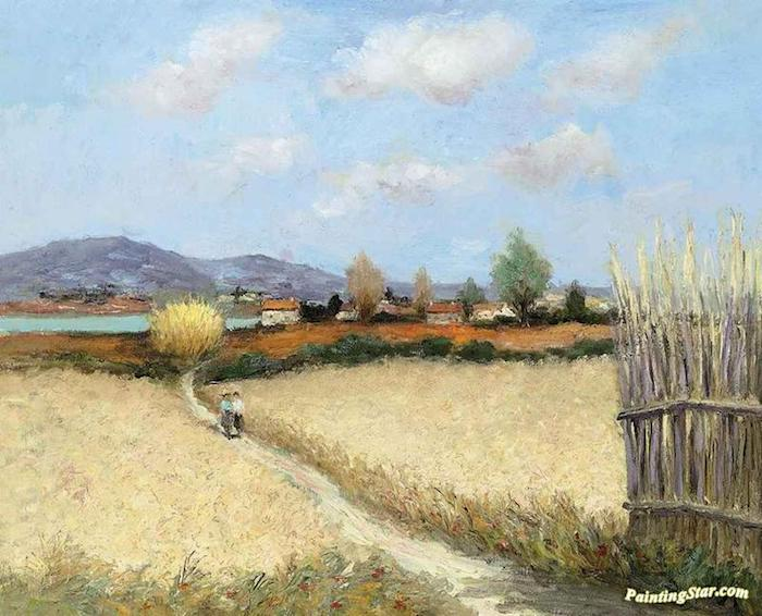 dibujos de paisajes en bonitos colores fotos de dibujos originales dibujos de verano fotos