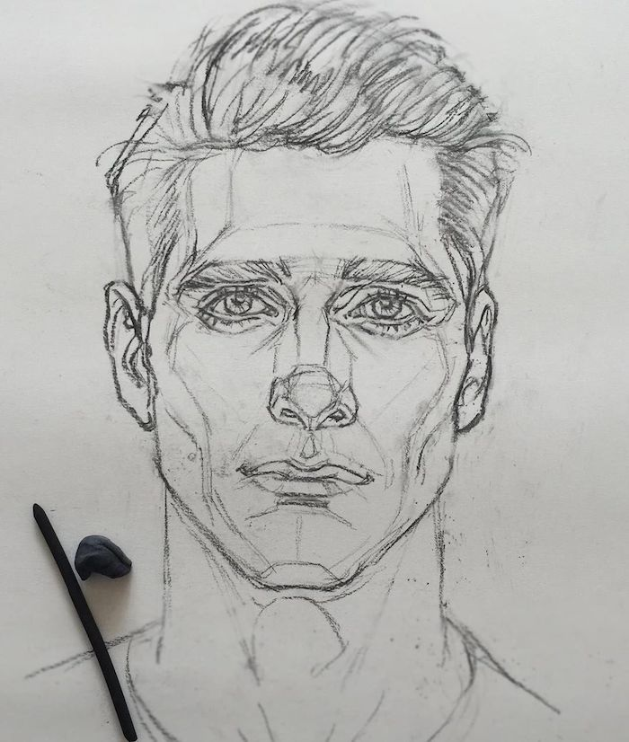 ideas de dibujos originales, fotos de dibujos a carboncillo de personas, como dibujar una cara paso a paso, como dibujar una cara facil, dibujos a lapiz faciles para principiantes