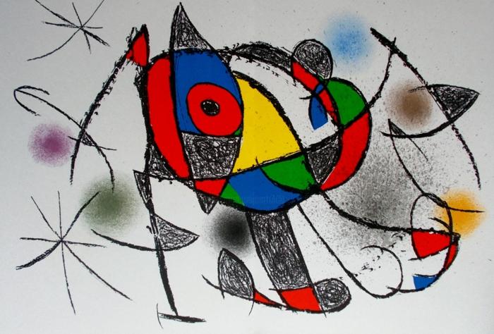 cosas originales para dibujar en casa, dibujos en acuarela y ejemplos de dibujos en estilo abstracto, fotos de dibujos