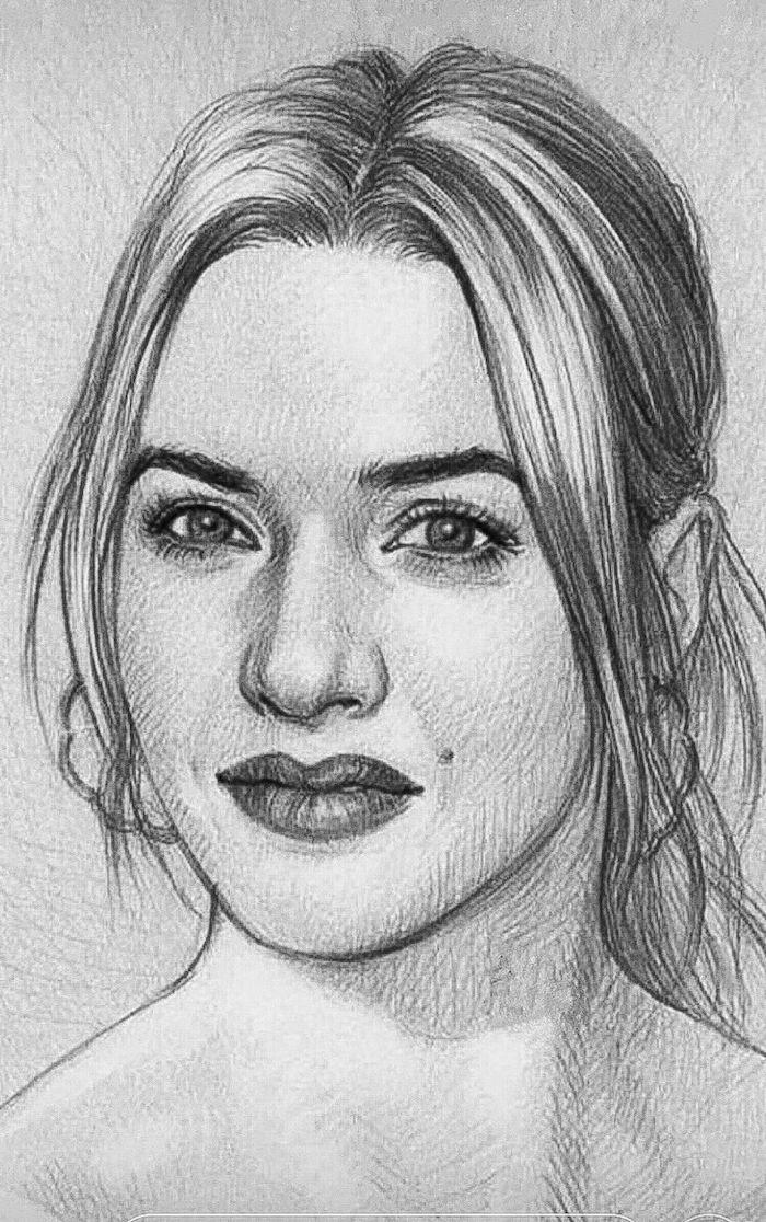 geniales ideas sobre como hacer retratos de personas detallados en estilo realista, fenomenales ideas de dibujos
