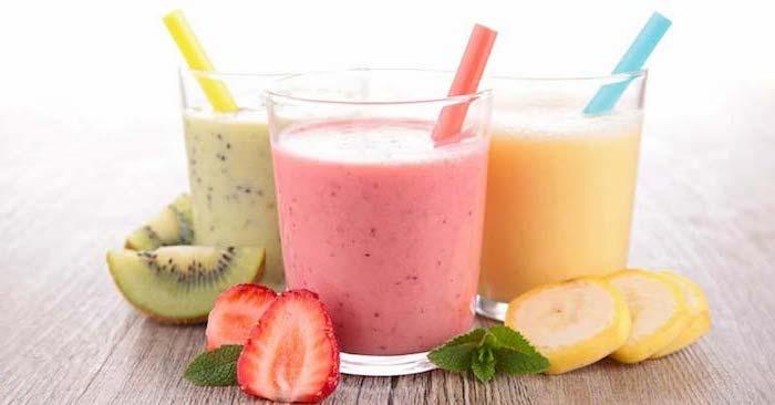 propuestas sobre como hacer batidos de frutas sabrosos para el verano, ideas para perder peso, batidos de frutas verduras