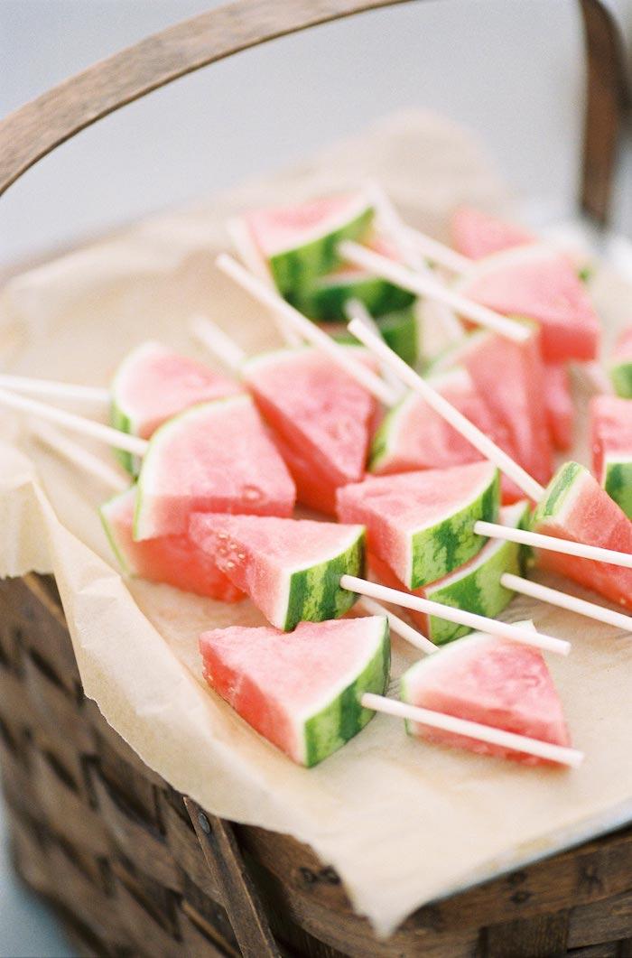 ideas de picoteo fotos con ideas de aperitivos ricos para el verano pinchos de sandia ideas de receta