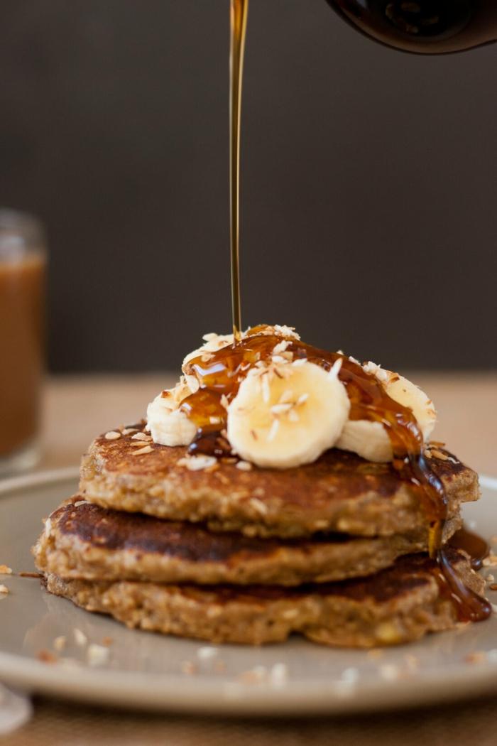 las mejores ideas de desayunos saludables, como hacer tortitas caseras para perder peso paso a paso, ideas de recetas veganas