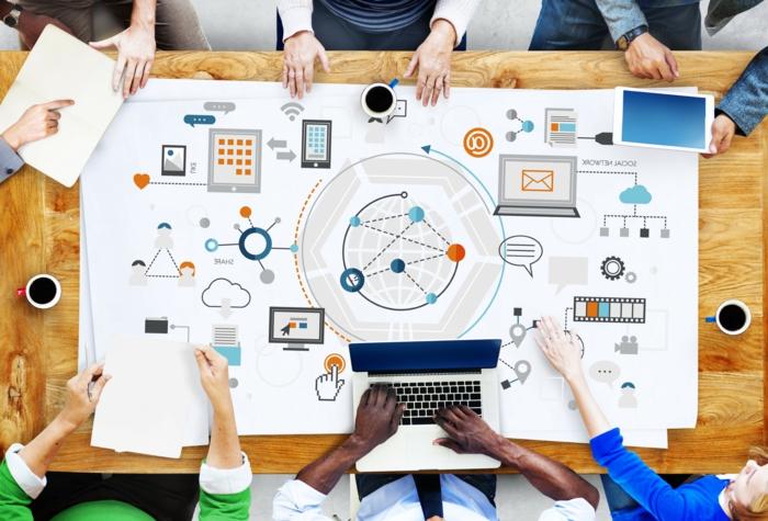 las mejores herramientas de colaboracion abierta sistemas de colaboracion beneficios sistema colaborativa esquema oficina