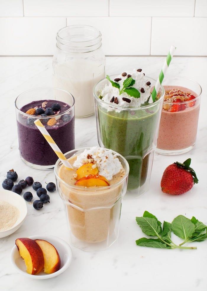 las mejores ideas sobre como preparar bebidas ricas y faciles de hacer en casa para desayunar, desayunos saludables