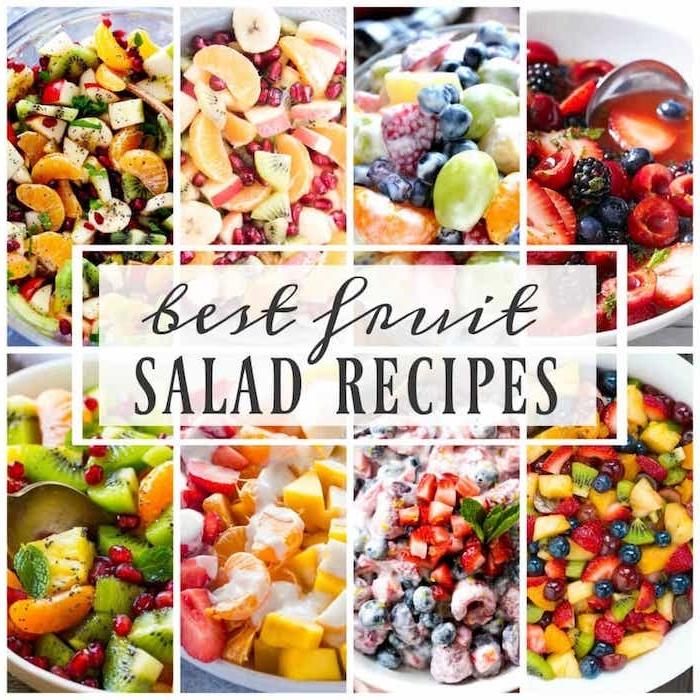 fenomenales ideas de ensaldas saludables para bajar de peso, fotos de ensaladas ricas y nutritivas para el verano