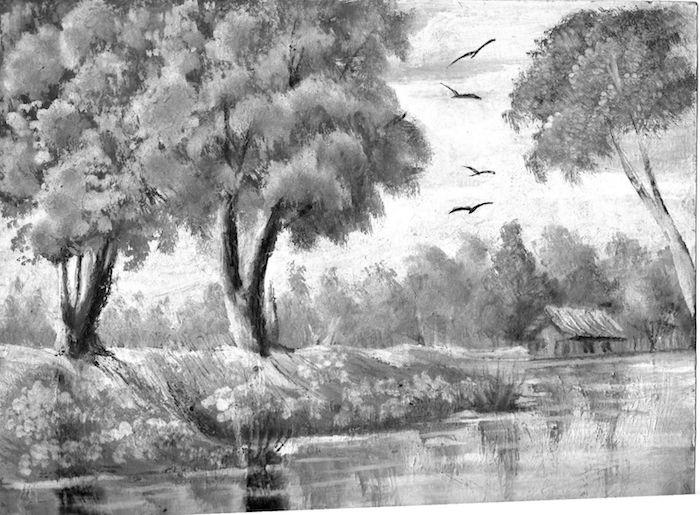 paiasajes de naturaleza inspriadores v arboles avez rio idea de paisajes de verano
