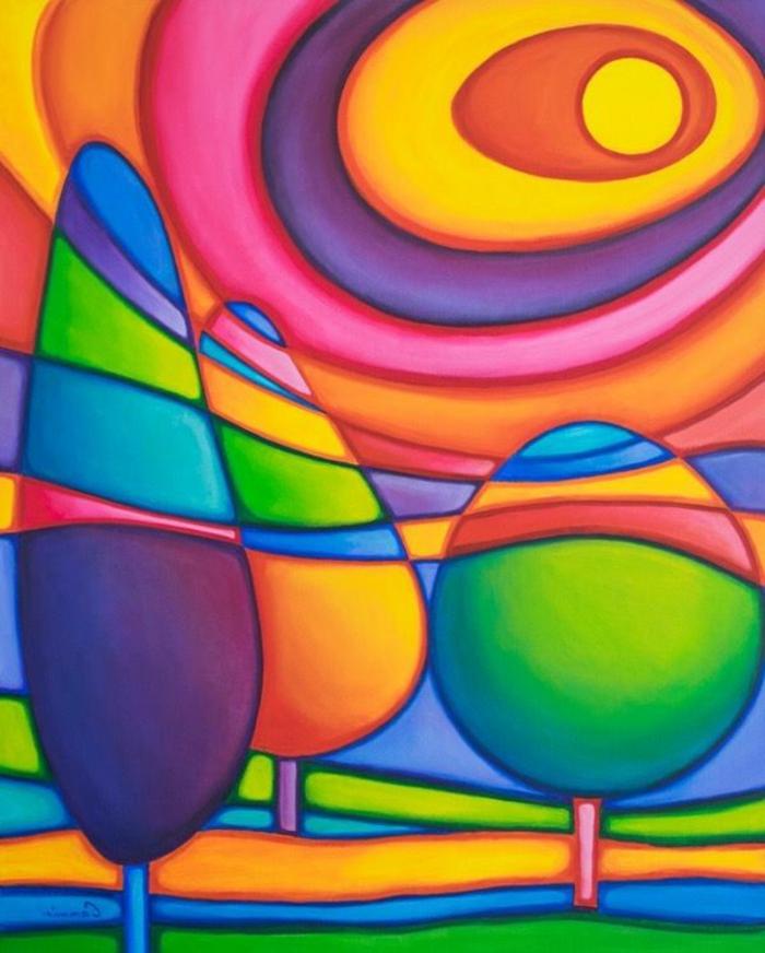 excelentes ideas de dibujos en colores vibrantes, fotos de dibujos en colores vibrantes, ideas de dibujos en fotos