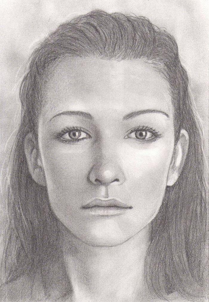 fenomenales ideas sobre como dibujar una cara de mujer, dibujos de caras, aprende a dibujar, como dibujar un rostro