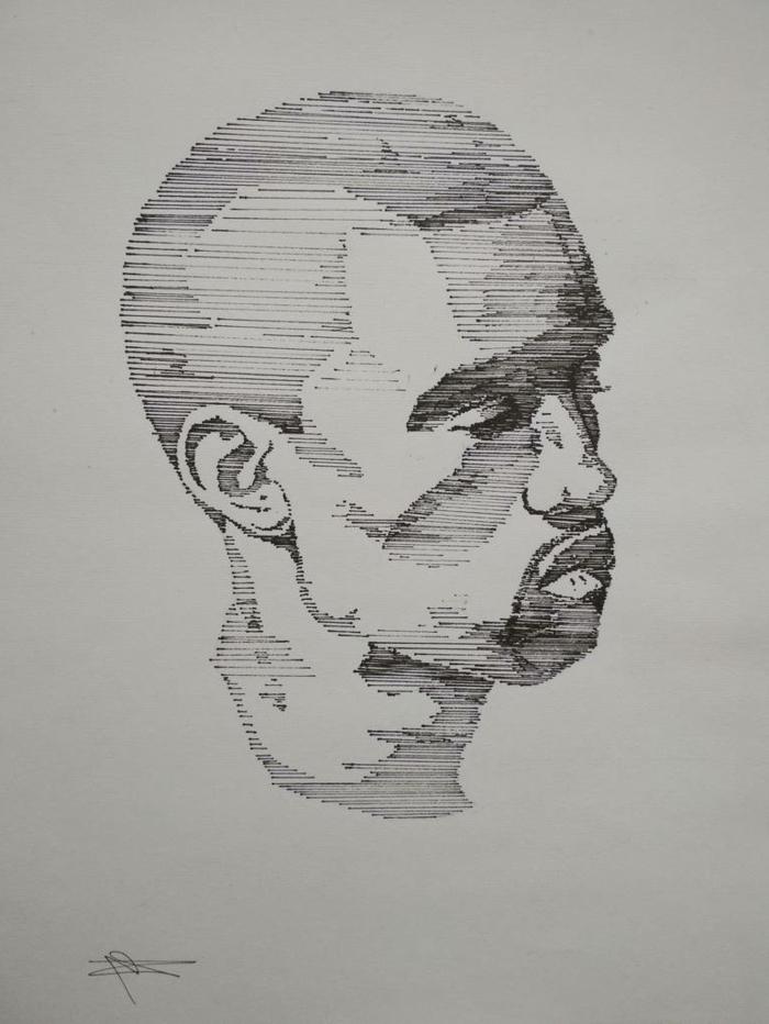 dibujos lineales inspiradores, originales ideas sobre como dibujar personas en blanco y negro, fotos de dibujos
