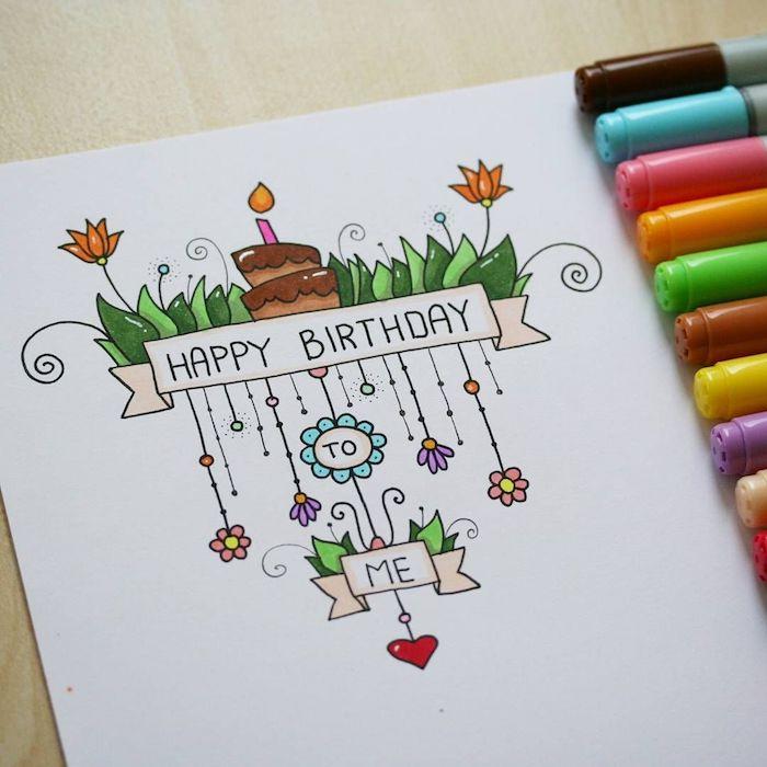 0 las mejores ideas de imágenes de feliz cumpleaños aprender a dibujar detalles chulos fotos de dibujos bonitos