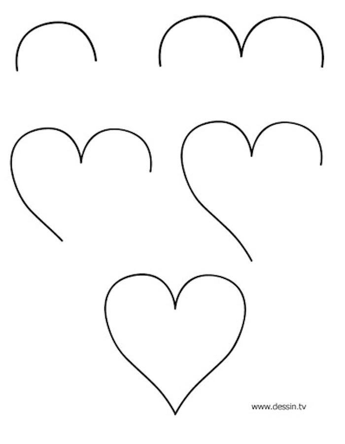 0 pasos para dibujar un corazon dibujos a lapiz faciles ideas de dibujos para principiantes