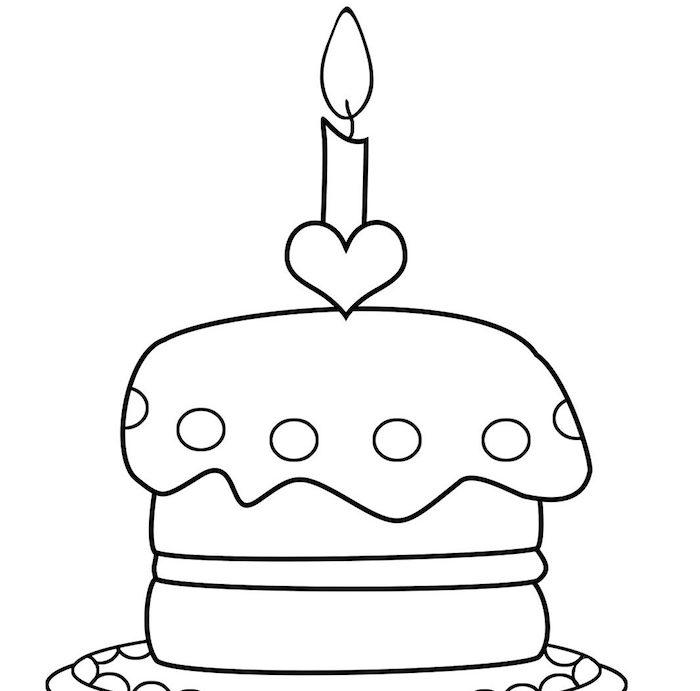 1 dibujo tarta corazon vela ideas de dibujos originales de tartas y pasteles fotos de dibujos chulos en blanco y negro