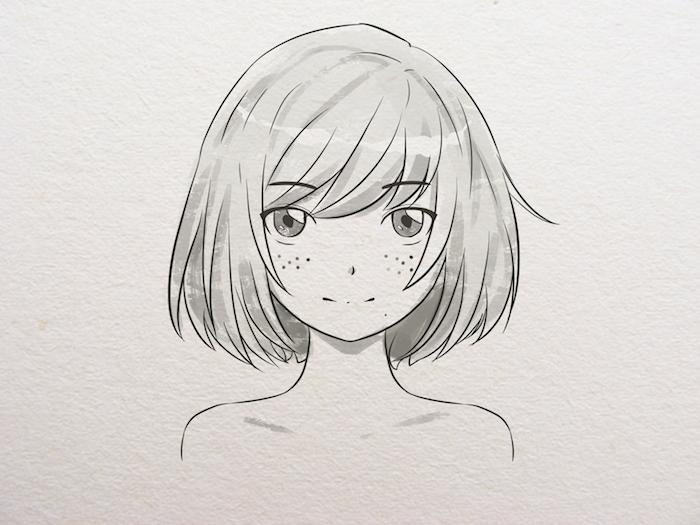 1 dibujos animados japoneses fotos de dibujos de los animes niña pelo corto ojos grandes dibujos kawaii