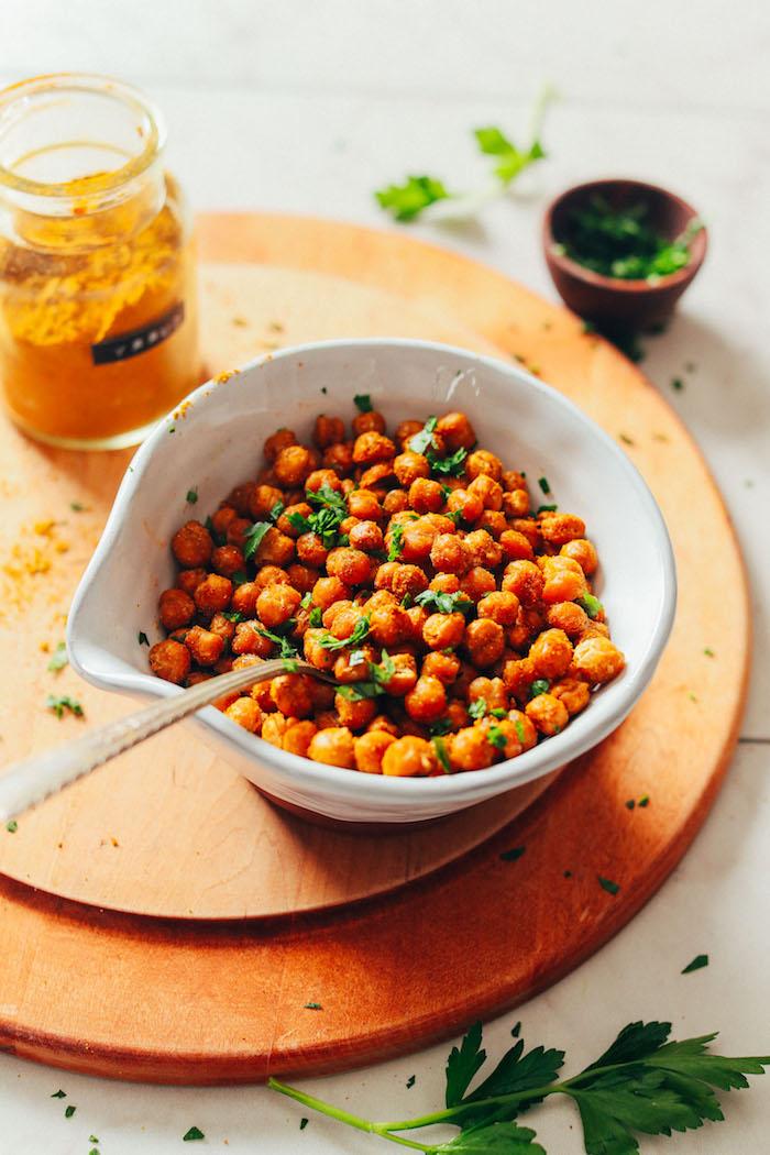 1 recetas con garbanzos al horno entrantes apetitosos y saludables con garbanzos fotos de platos con garbanzos orignales