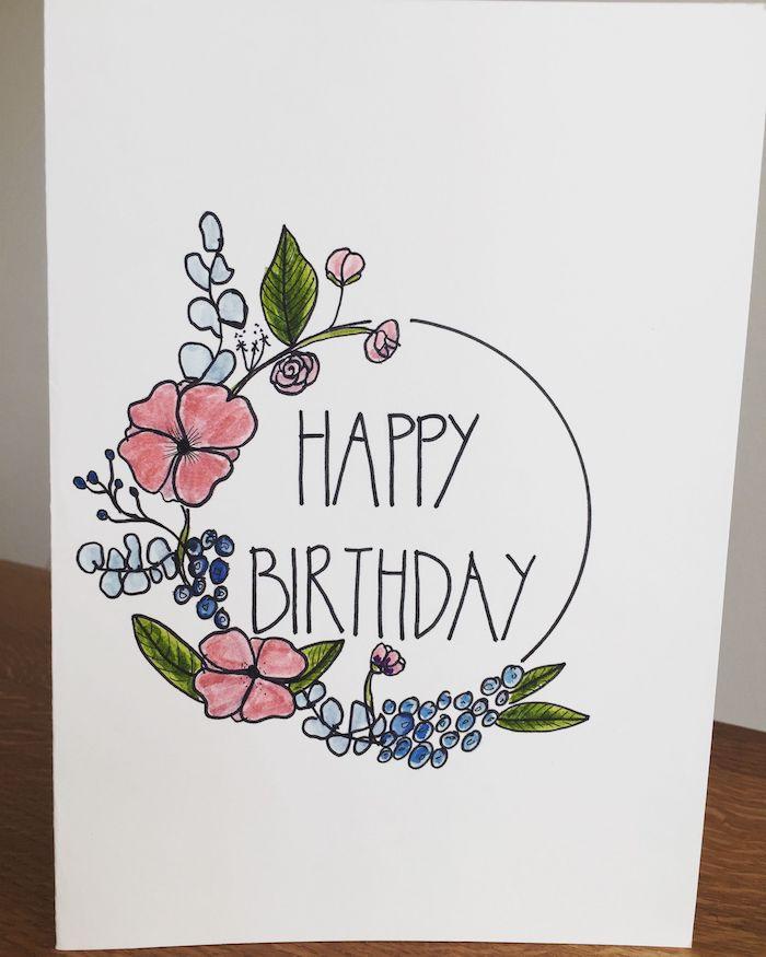 2 detalles hermosos imágenes de feliz cumpleaños dibujos super chulos motivos florales feliz cumpleaños ideas de dibujos
