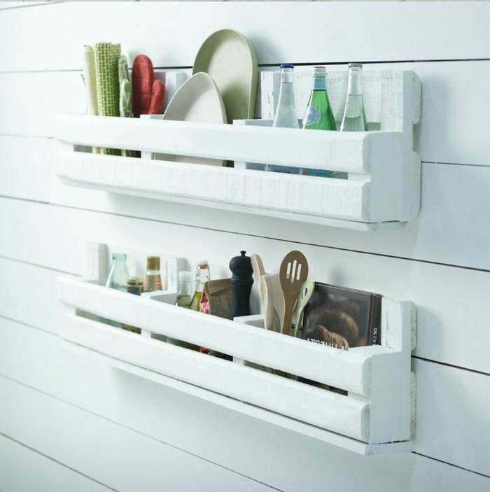 3 estanterias blancas madera pintada en blanco ideas para decorar la cocina fotos de cocinas decoradas