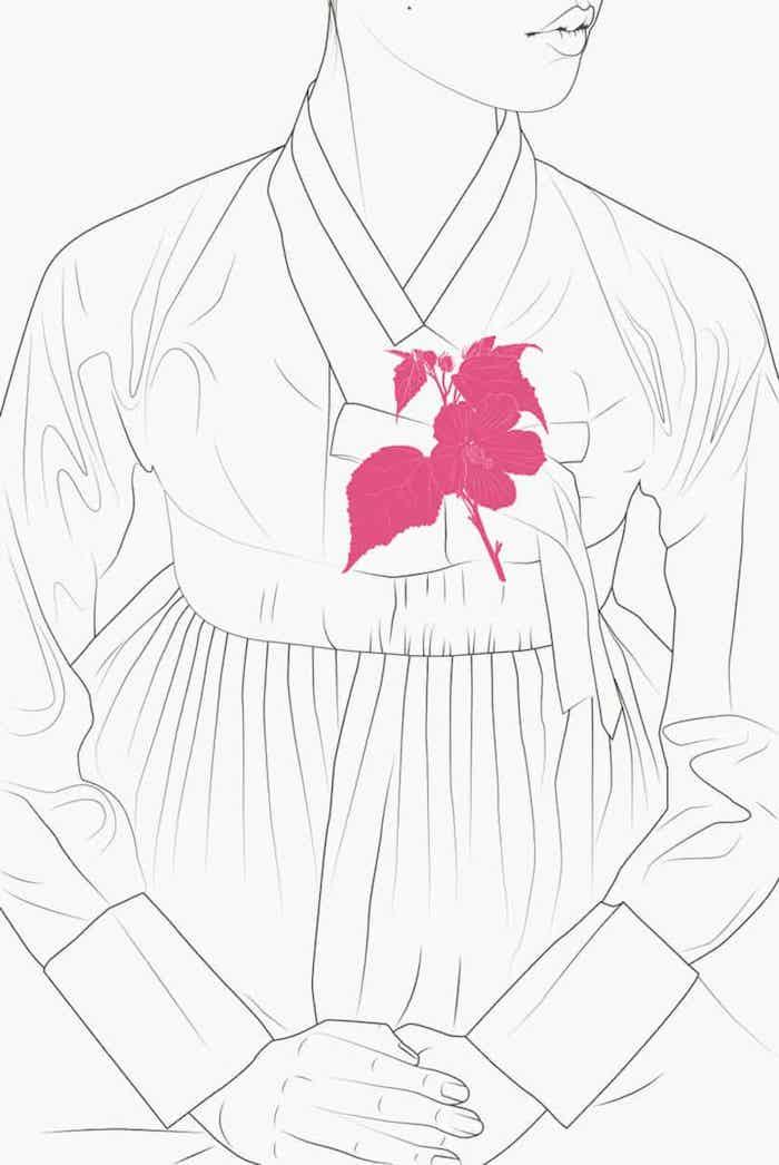 3 la belleza de los dibujos japoneses mujer dibujo blanco y negro flores en color ideas de dibujos
