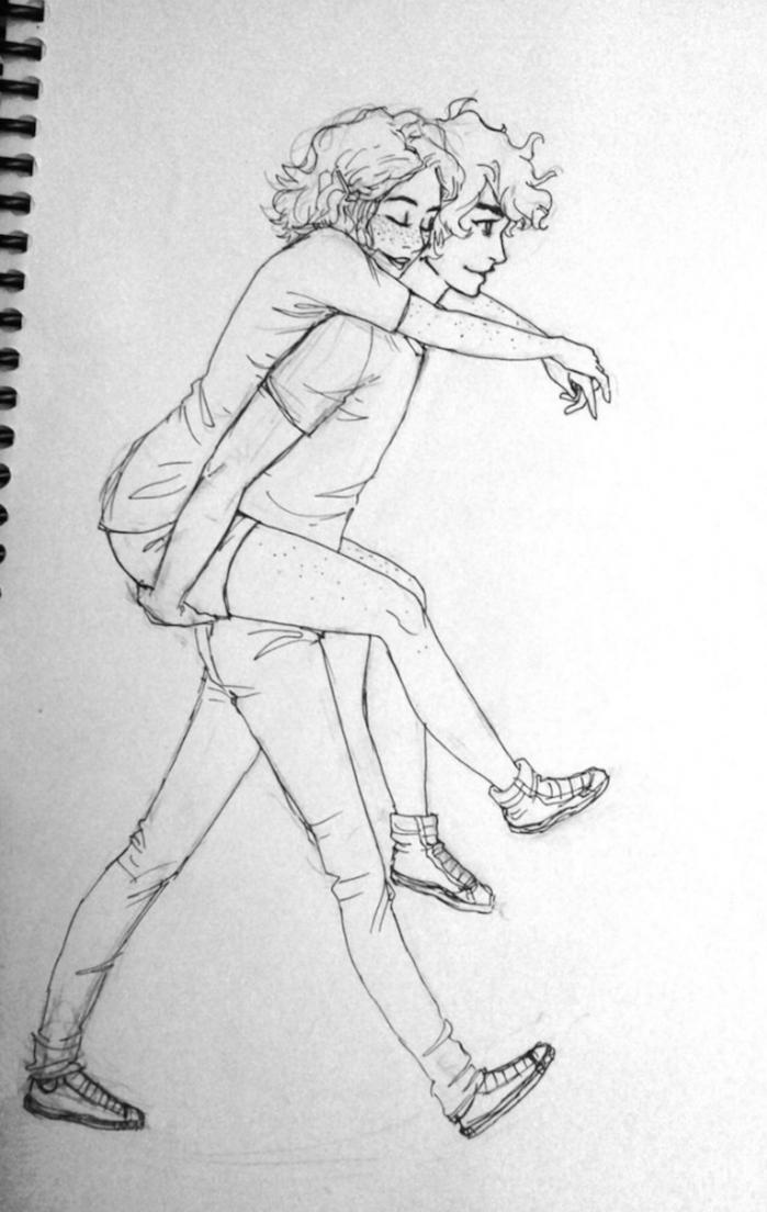 3 pareja abrazada dibujos kawaii de amor dibujos tiernos y bonitos dibujos a lapiz que ezpresan amor fotos de dibujos