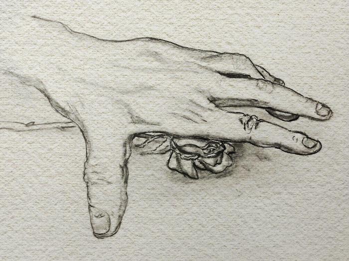 a dibujar dibujos en estilo realista mano rosa dibujos para dibujar dificiles fotos de dibujos realistas