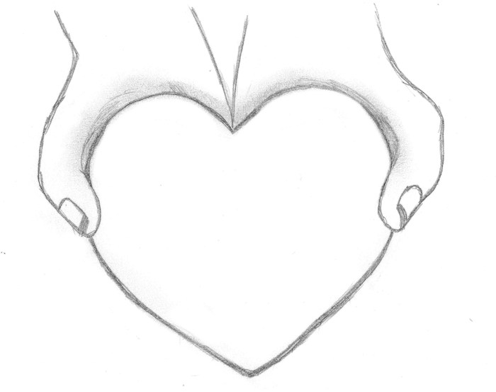 heart drawings for your boyfriend 30 day drawing challenge – days 8 13 | sometimes i write