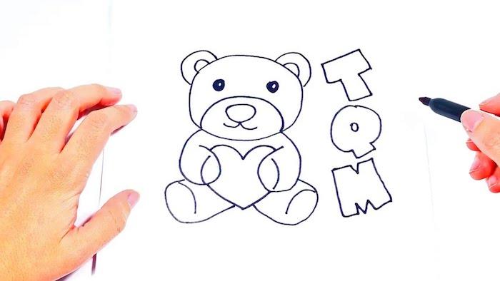 a dibujar un osos letras ideas de dibujos chulos dibujos osos ejemplos de dibujos para descargar
