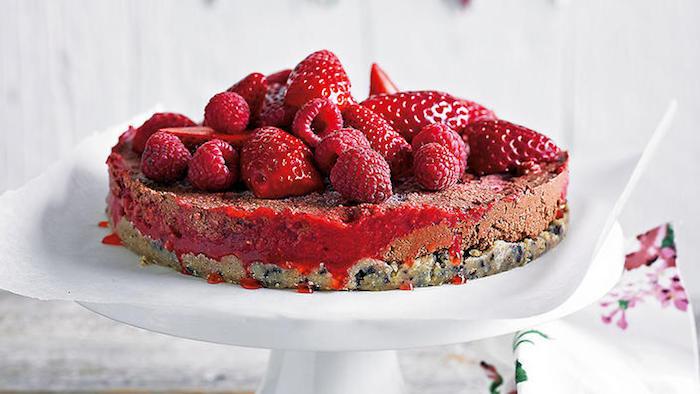 a preparar postres ligeros y saludables fresas tarta de ques chia ideas de postres