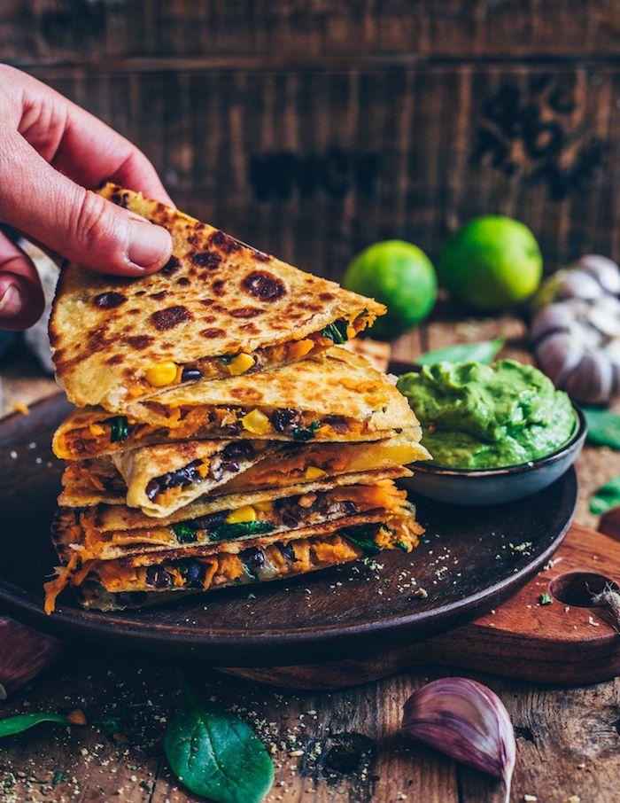 a preparar quesadillas veganas con batatas ideas de recetas de entrantes como hacer boniato al horno