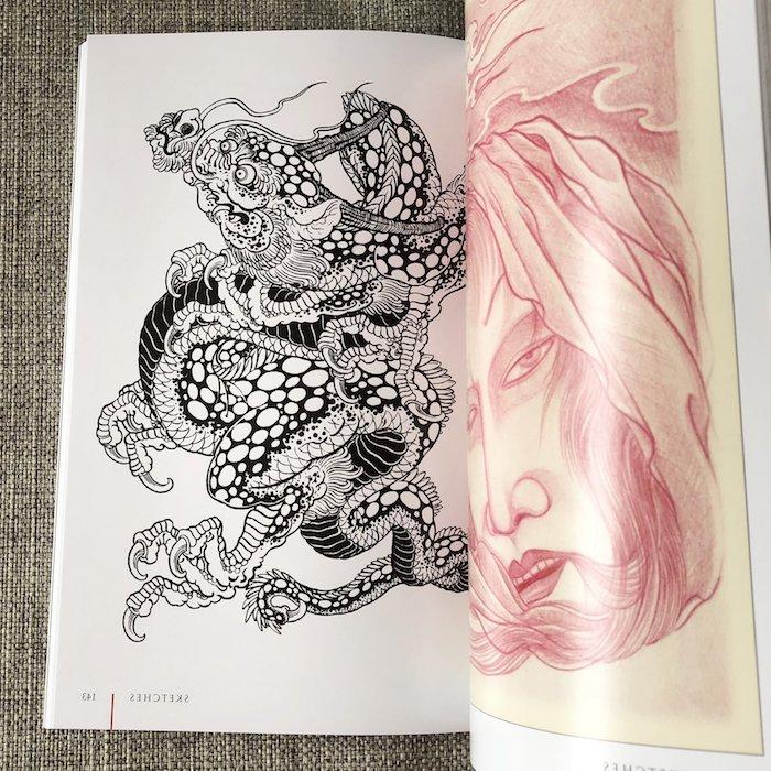 adorables ejemplos de dibujos en estilo japones fotos de dibujos pescado koi