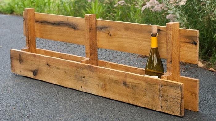 adorables ideas sobre como hacer una estanteria estanteria para botellas de vino ideas de muebles para el jardin