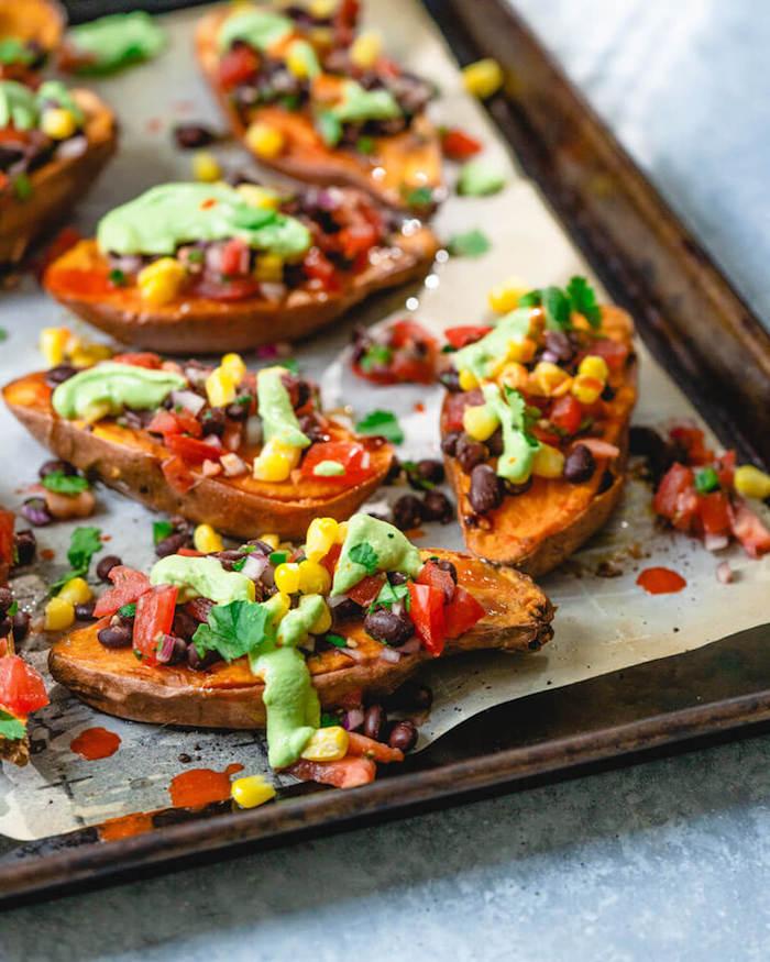 alucinantes ideas de batata al horno ideas de recetas saluables con batatas aguacate