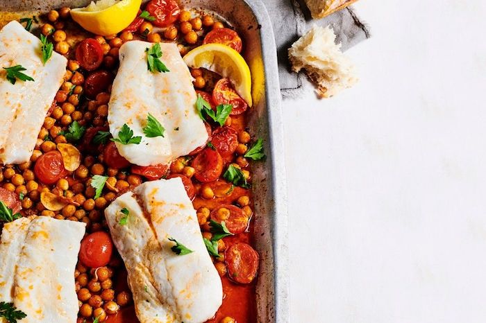 alucinantes ideas de recetas con pescado y garbanzos cenas ligeras y=recetas con grarbanzos