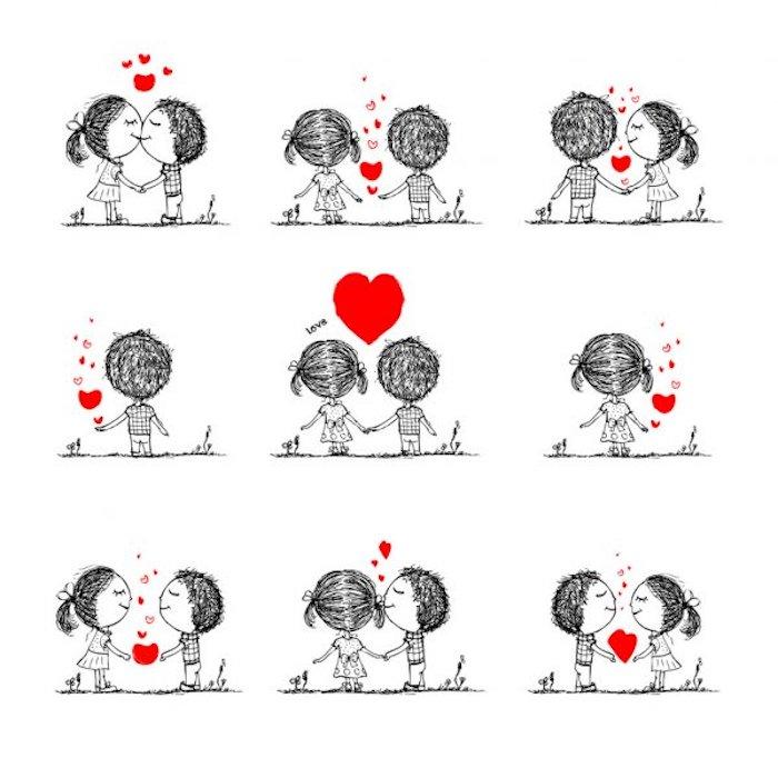 amor dibujos parejas tiernas ideas de dibujos pequeños en blanco y negro fotos de dibujos