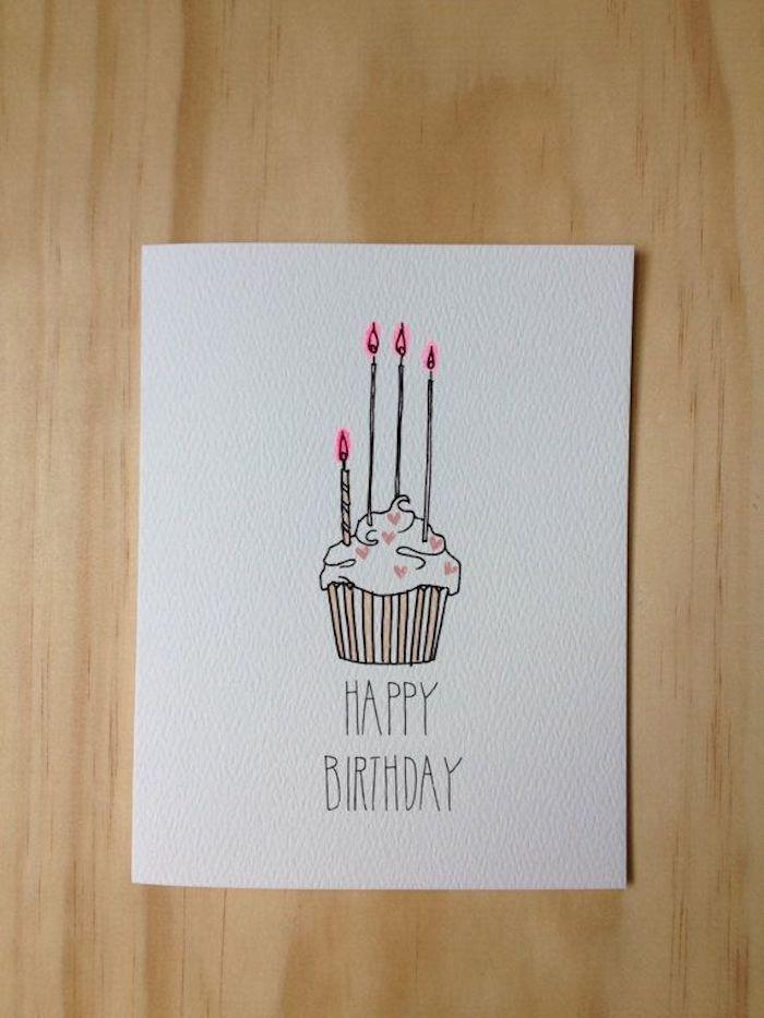 aprender a dibujar dibujos de cumpleaños para niños originales ideas de dibujos tarta de cumpleaños magdalena velas